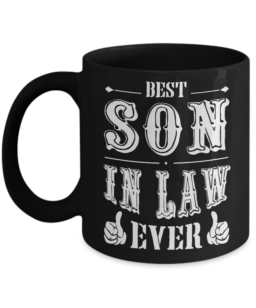 Son in law Mug Mug For best son in law ever Son in law Gift
