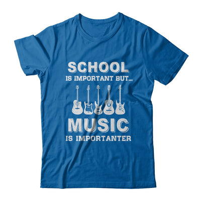 School Important Bass Guitar Player Is Importanter Gift T-Shirt & Hoodie | Teecentury.com