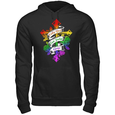 Only God Can Judge Gay T-Shirt & Hoodie | Teecentury.com