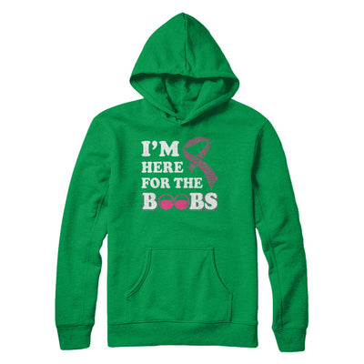 I'm Here For The Boobs Breast Cancer T-Shirt & Hoodie | Teecentury.com