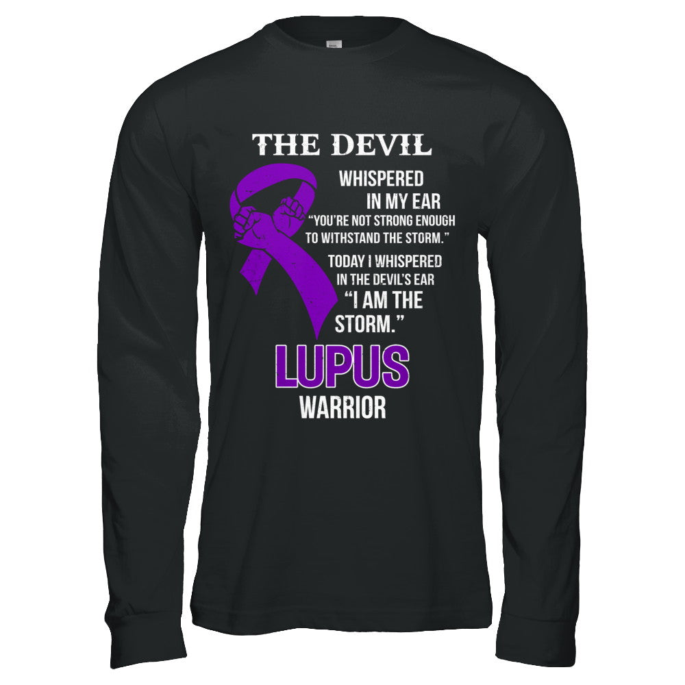 I Am The Storm Support Lupus Awareness Warrior Gift Shirt Hoodie