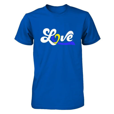 Love Down Syndrome Awareness T-Shirt & Hoodie | Teecentury.com