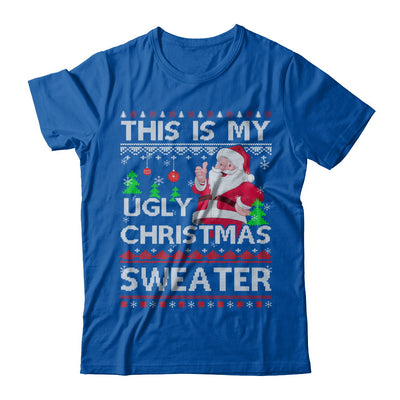 This Is My Ugly Christmas Sweater T-Shirt & Sweatshirt | Teecentury.com