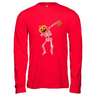 Halloween Dabbing Skeleton Football T-Shirt & Hoodie | Teecentury.com