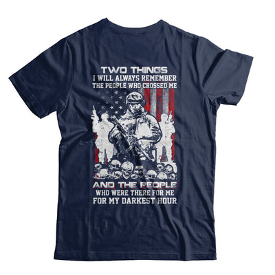 Veteran Soldier Who Were There For Me For My Darkest Hour T-Shirt & Hoodie | Teecentury.com