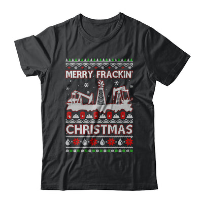 Oilfield Merry Fracking Christmas Ugly Sweater Gifts T-Shirt & Sweatshirt | Teecentury.com