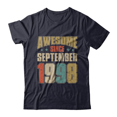Vintage Retro Awesome Since September 1998 22th Birthday T-Shirt & Hoodie | Teecentury.com