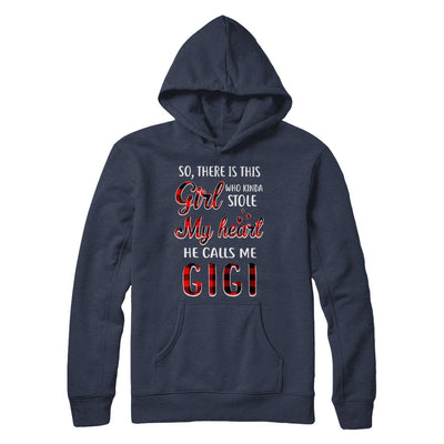 This Girl Who Kinda Stole My Heart He Calls Me Gigi T-Shirt & Hoodie | Teecentury.com