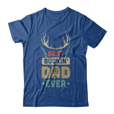 Vintage Best Buckin' Dad Ever Deer Hunting T-Shirt & Hoodie | Teecentury.com