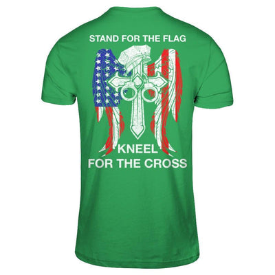 Police Stand For The Flag Kneel For The Cross T-Shirt & Hoodie | Teecentury.com