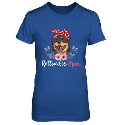 Rottweiler Mom Gift For Women Dog Lover T-Shirt & Hoodie | Teecentury.com