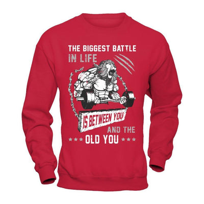 The Biggest Battle In Life Is Between You And The Old You T-Shirt & Hoodie | Teecentury.com