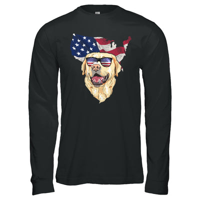 Funny Patriot Labrador Dog 4Th Of July American Flag T-Shirt & Hoodie | Teecentury.com