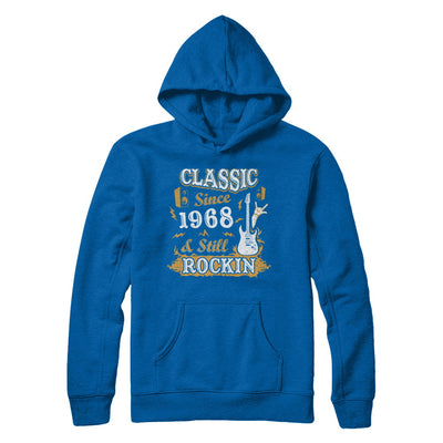 Vintage Classic Since 1968 With Rockin 52th Birthday T-Shirt & Hoodie | Teecentury.com
