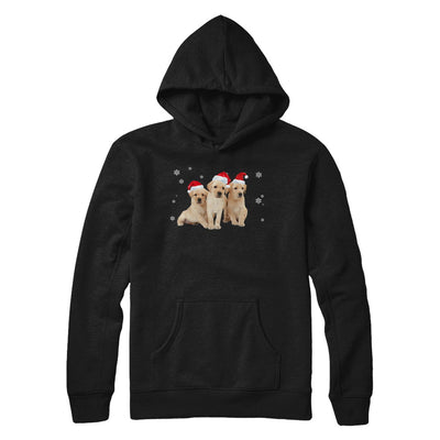 Funny Yellow Labrador Puppies Christmas Dog Gift T-Shirt & Hoodie | Teecentury.com
