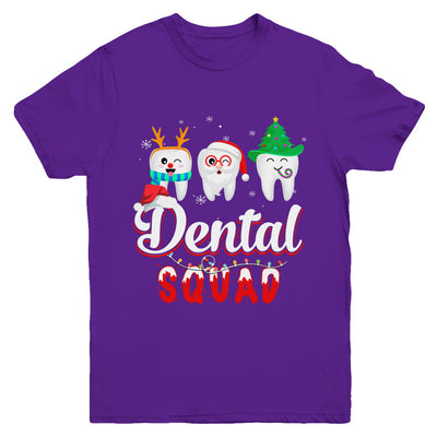 Dental Squad Tooth Christmas Dental Assistant Gifts Youth Youth Shirt | Teecentury.com