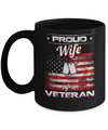 Proud Wife Of A Veteran Mug Coffee Mug | Teecentury.com