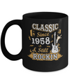 Vintage Classic Since 1958 With Rockin 62th Birthday Coffee Mug | Teecentury.com