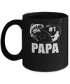 #1 Papa Fishing Fisherman Best Fathers Day Gift Mug Coffee Mug | Teecentury.com