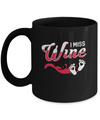 I Miss Wine Pregnancy Bump Mommy Mug Coffee Mug | Teecentury.com