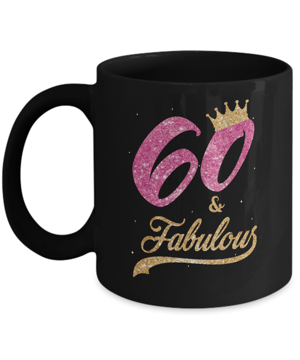 60 And Fabulous 1959 60Th Birthday Gift Mug