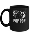 #1 Pop Pop Fishing Fisherman Best Fathers Day Gift Mug Coffee Mug | Teecentury.com