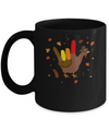 American Sign Language I Love You Thanksgiving Turkey Mug Coffee Mug | Teecentury.com