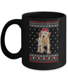 Labrador Christmas Ugly Sweater Lights Dog Xmas Gift Mug Coffee Mug | Teecentury.com