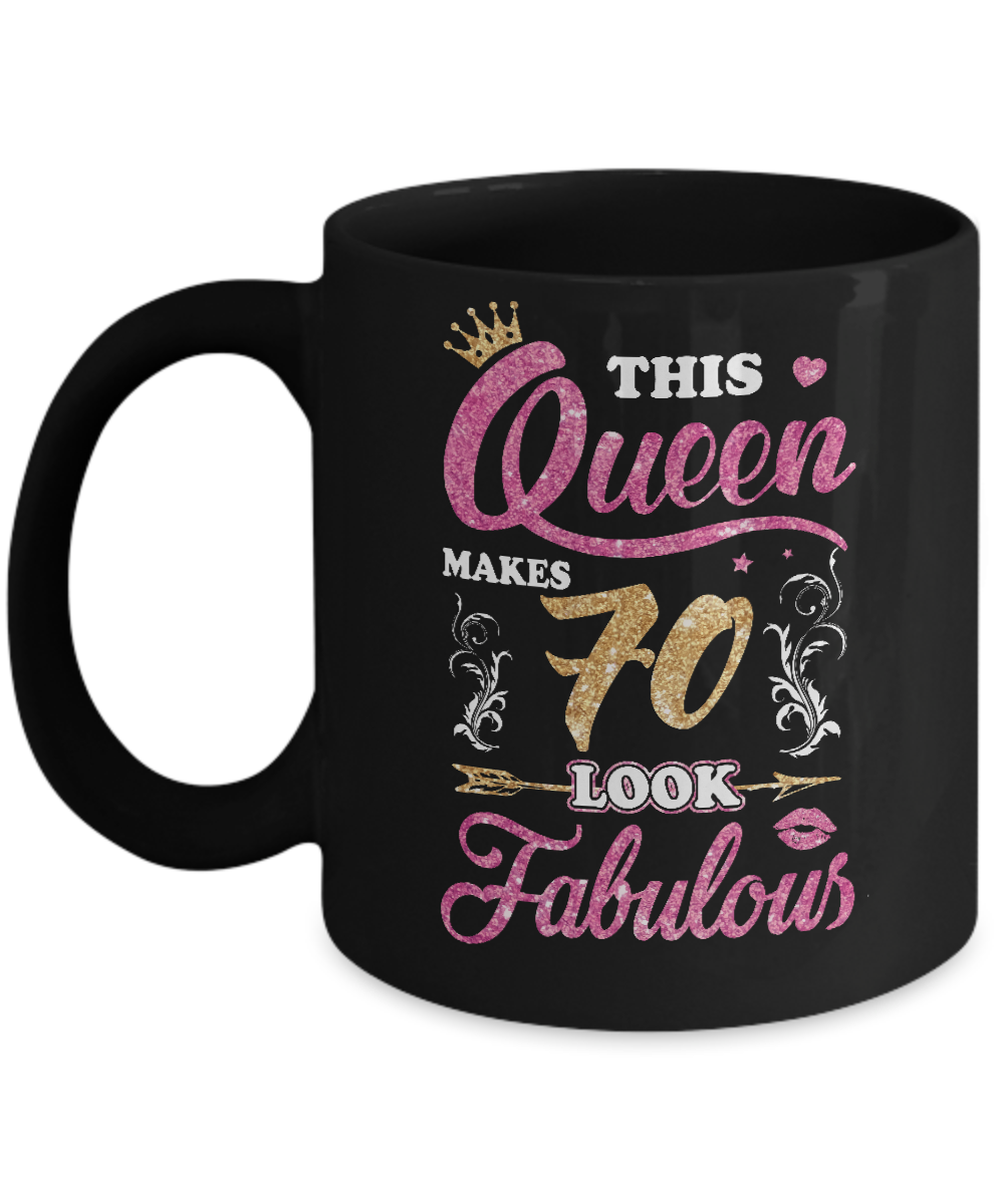 This Queen Makes 70 Look Fabulous 1949 70Th Birthday Mug
