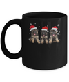 Funny German Shepherd Puppies Christmas Dog Gift Mug Coffee Mug | Teecentury.com