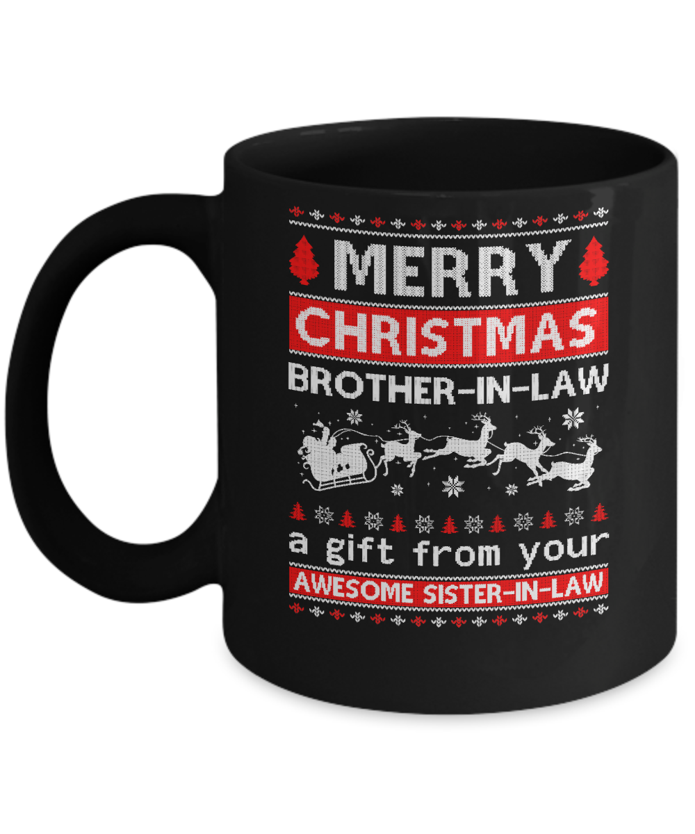Merry Christmas Brother-In-Law A Gift From Your Sister-In ...