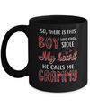 This Boy Who Kinda Stole My Heart He Calls Me Grammy Mug Coffee Mug | Teecentury.com