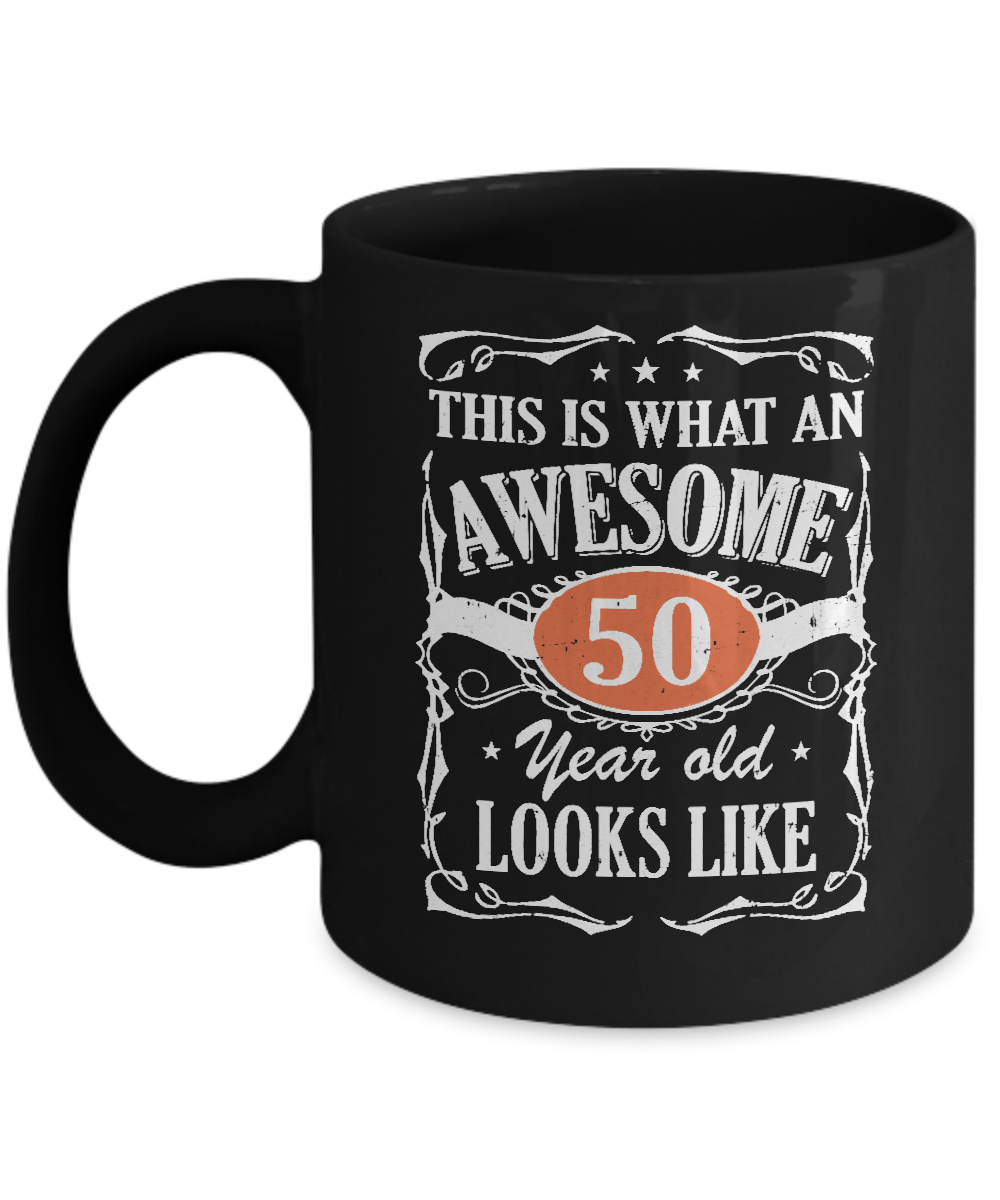 Vintage This Is What An Awesome 50 Year Old 1968 Birthday Mug Coffee
