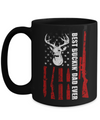 Deer Hunting Best Buckin Dad Ever Father's Day Gift Mug 15oz Coffee Mug | Teecentury.com