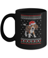 Beagle Christmas Ugly Sweater Lights Dog Xmas Gift Mug Coffee Mug | Teecentury.com