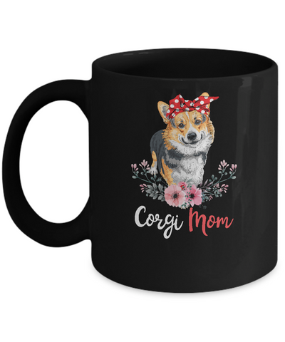Corgi Mom Gift For Women Dog Lover Mug Coffee Mug | Teecentury.com