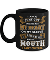 I'm A June Guy I Was Born With My Heart On My Sleeve Mug Coffee Mug | Teecentury.com