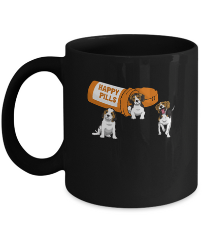 Beagles Happy Pills Mug Coffee Mug | Teecentury.com