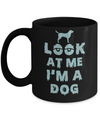Look At Me I'm A Dog Halloween Costume Mug Coffee Mug | Teecentury.com
