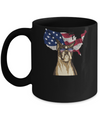 Funny Patriot Boxer Dog 4Th Of July American Flag Mug Coffee Mug | Teecentury.com
