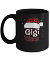 Santa Gigi Claus Red Plaid Family Pajamas Christmas Gift Mug Coffee Mug | Teecentury.com