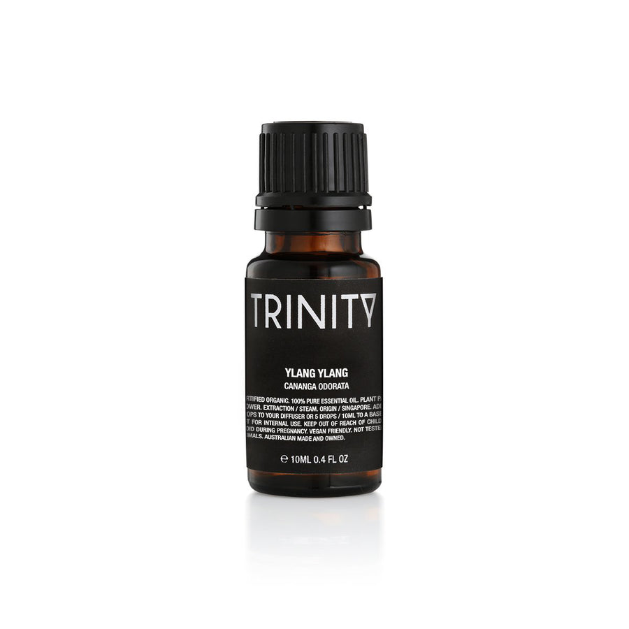 Trinity Ylang Ylang Essential Oil Organic 10ml