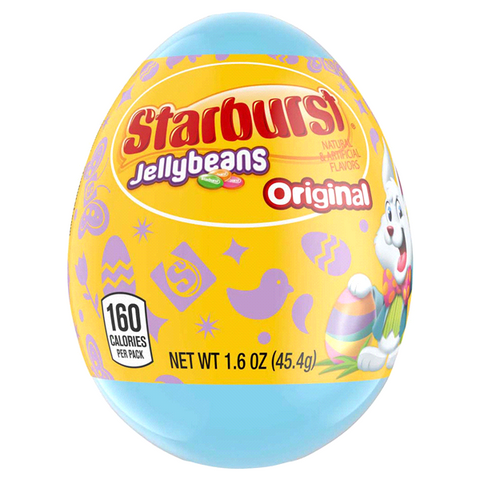 Easter Starburst Jelly Beans Egg