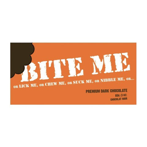 Bite Me Premium Dark Chocolate