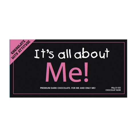 It's all about Me! Premium Dark Chocolate