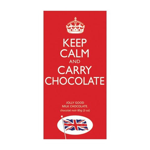 Keep Calm and Carry Chocolate! Milk Chocolate