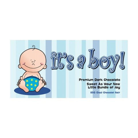 It's a boy! Premium Milk Chocolate