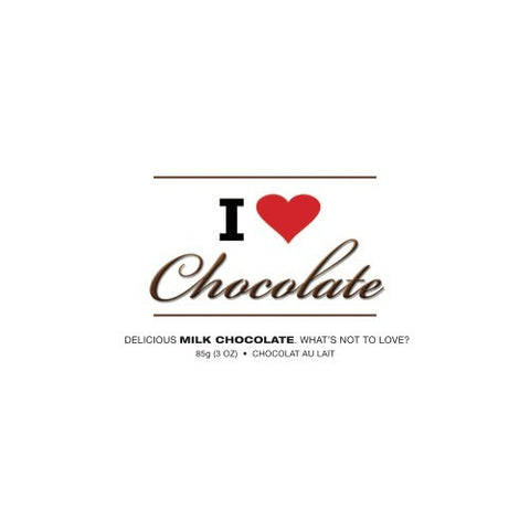 I Heart Chocolate Milk Chocolate