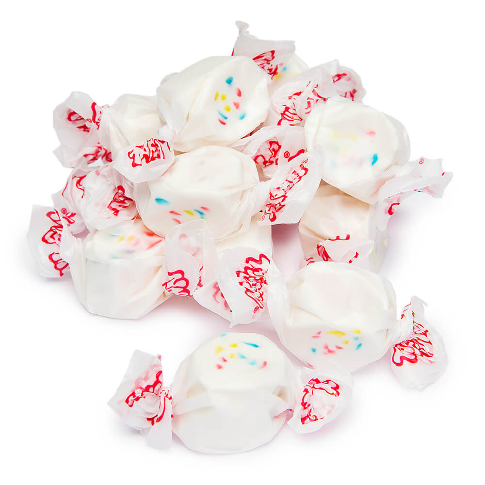 Frosted Cupcake Salt Water Taffy - 100g