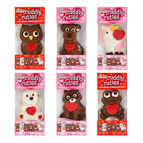 Palmer - Cuddly Cuties Chocolate Valentine's Card